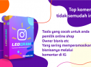 Tools Top Komen IG, Jualan tambah Laris Manis