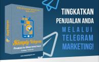 Tingkatkan Penjualan Bisnis Anda Via Telegram PRO