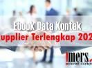 Mau dapat Database Supplier? Daftar Kontak Supplier Terlengkap 2021